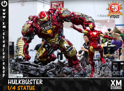 XM Hulkbuster + Iron Man 14 scale statue figure Exclusive Brand New US Seller