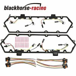New Valve Cover Gasket & Harnesses KIT For 7.3L 94-97 Powerstroke Diesel