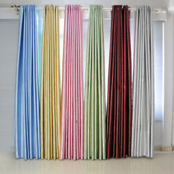 GL 2x Luxury Home Blockout Blackout Flower Eyelet Ring Top Window Curtains Drape