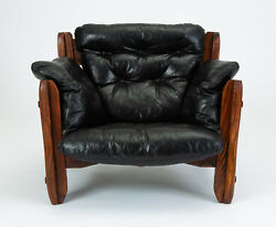 Don Shoemaker Descanso Lounge Chair Mid Century Latin Modernism Mexico Leather