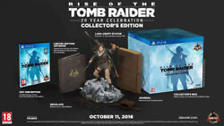 Rise of the Tomb Raider 20 Year Celebration Edition Collector's Edition New!