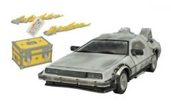 Diamond Select Toys Back to the Future: Iced Time Machine Collector's Set