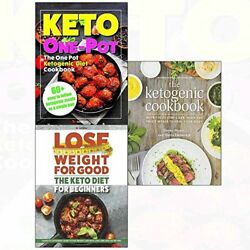 KETOGENIC COOKBOOK AND KETO DIET FOR BEGINNERS AND ONE POT 3 By Jimmy Moore NEW