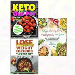 EASY DAIRY-FREE KETO AND DIET FOR BEGINNERS AND ONE POT COOKBOOK By Maria NEW