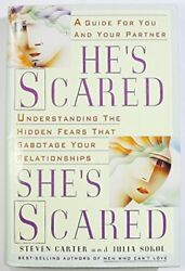 HE'S SCARED SHE'S SCARED By Steven Carter - Hardcover **BRAND NEW**