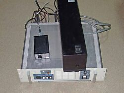 ESI LASER DIODE LASER POWER SUPPLY WITH LASER HEADCONTAIN LIGHTWAVE 110A-PS