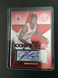 Jimmy Butler 2012-13 Totally Certified Rookie Roll Call RED Auto 51199