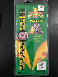 1993 Bandai Mighty Morphin Power Rangers FlipTop Red Ranger Watch (New Unopened)