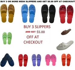 Easy Women#x27;s Chinese Mesh Slippers $5.00 OFF WHEN YOU BUY 3 OR MORE $6.29