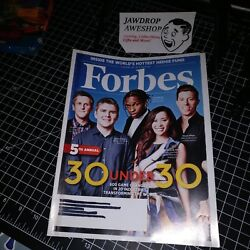 FORBES MAGAZINE 5TH ANNUAL 30 UNDER 30 A$AP ROCKY SHAUN WHITE AARON LEVIE MAG