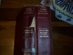 Vintage Century Dictionary $5.00