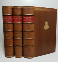 SHAKSPEARE'S DRAMATIC WORKS 3 Vol SHAKESPEARE w Index SAMUEL AYSCOUGH 1790
