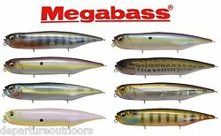 Megabass Dog X Diamante Rattle In Topwater Bait 4 3 4quot;Japanese Bass Fishing Lure $22.98