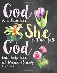 GOD IS WITHIN HER SHE WILL NOT FALL GOD WILL HELP HER AT BREAK OF By Word NEW