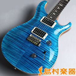 Paul Reed Smith (PRS) Wood Library Custom24 10Top Blue Matteo S  N: 247133