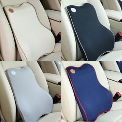 Memory Foam Lumbar Support Cushion for Home Office Car Seat Back Chair Pillow US