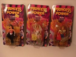 Princess of Power Lot  *SHE-RA*   *CATRA*  *BOW* Action Figures  MINT Original