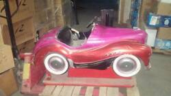 Austin J40 Pedal Car Turned into Coin Operated Kiddie Ride- Very Rare!!!