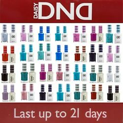 DND 641 - 782 Daisy Soak Off Gel Polish Pick Your Color .5oz LEDUV $105.99