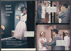 1958 Tv Guide Article ~ Dorothy MaloneJacques BergeracAlex GottliebGale Storm