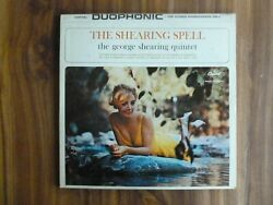 LOT OF 2 GEORGE SHEARING LP'S - THE SHEARING SPELL & SATIN AFFAIR - CHEESECAKE