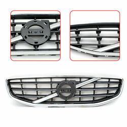 Fits For 2011 2012 2013 Volvo S60 Chrome Front Bumper Upper Radiator Grill Hot