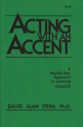 ACTING WITH AN ACCENTIRISH By David Alan Stern **BRAND NEW**