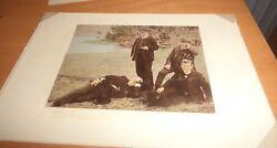 antique photo George Rignold JC Williamson Harry Rickards and Bland Holt c1905