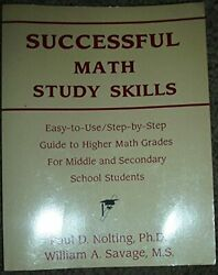 SUCCESSFUL MATH STUDY SKILLS: EASY-TO-USESTEP-BY-STEP GUIDE TO By William Mint