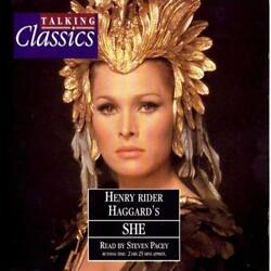 She - Henry Rider Haggard - 2CD Audiobook - Steven Pacey