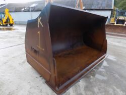 EMMC 132 INCH LOADING SHOVELL GP BUCKET WITH CUTTING EDGE