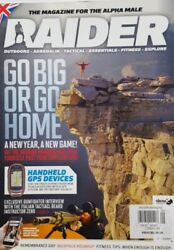 Raider UK Vol 7 Issue 9 Go Big or Go Home Handheld GPS Devices FREE SHIPPING CB $17.99
