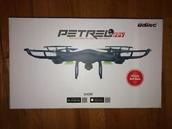 Udi Petrel U42W 2.4Ghz RC Quadcopter FPV Drone w HD Camera live F2 $50.00