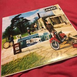 "Oasis.BE HERE NOWDOUBLE 12"" FIRST PRESSING VINYLCRELP 219"