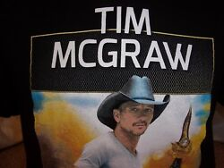 TIM MCGRAW t shirt country LARGE music MILITARY Special Ops Command Sky Ball XIV $8.50