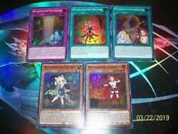 5 Card Witchcrafter Super Rare Deck Builder INCH Yu-Gi-Oh!