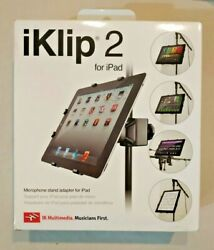 IK Multimedia iKlip 2 iPad mic stand holder adapter - unopened brand new