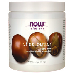 NOW Foods Shea Butter 16 oz Solid Oil. $16.60