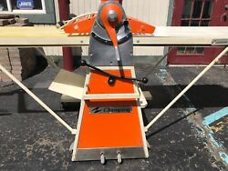 CHAMPION REVERSABLE DOUGH SHEETER PIZZA COOKIE BAKERY 220V WORKS GREAT DETROIT