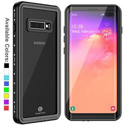 For Samsung Galaxy S10 Plus Waterproof Case Shockproof Built in Screen Protector $16.98