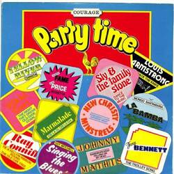 Various - Courage - Party Time - LP Vinyl Record