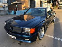 SEC w126 coupe AMG wide body kit S class SEC126