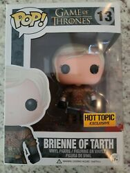 Funko Pop Game of Thrones #13 Bloody Brienne of Tarth Hot Topic Excl. No Sticker