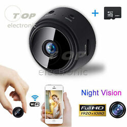 Mini Spy Camera Wireless Wifi IP Home Security HD 1080P DVR Night VIEW Remote $25.49