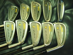 Honma Men LB708 New H&F golf 4s 18K gold Black Shaft Feather Weight Excellent!