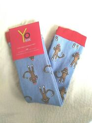 Sock Monkey novelty knee high socks by YoSox $12.99