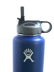Hydro Flask Straw Lid Fits all Wide Mouth 18 oz 32 oz 40 oz 64 oz GreyBlack