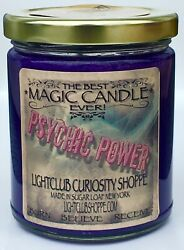 Wiccan Magic Spell Candle for PSYCHIC POWER MESSAGES THIRD EYE SEEKERS $22.00