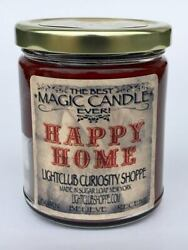 Wiccan Magic Spell Candle for HAPPY HOME Peace Calm Love Health $22.00