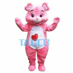 2018 NEW Care Bear Mascot Costume Wedding Cosplay Fancy Dress Anime Carnival Hot
